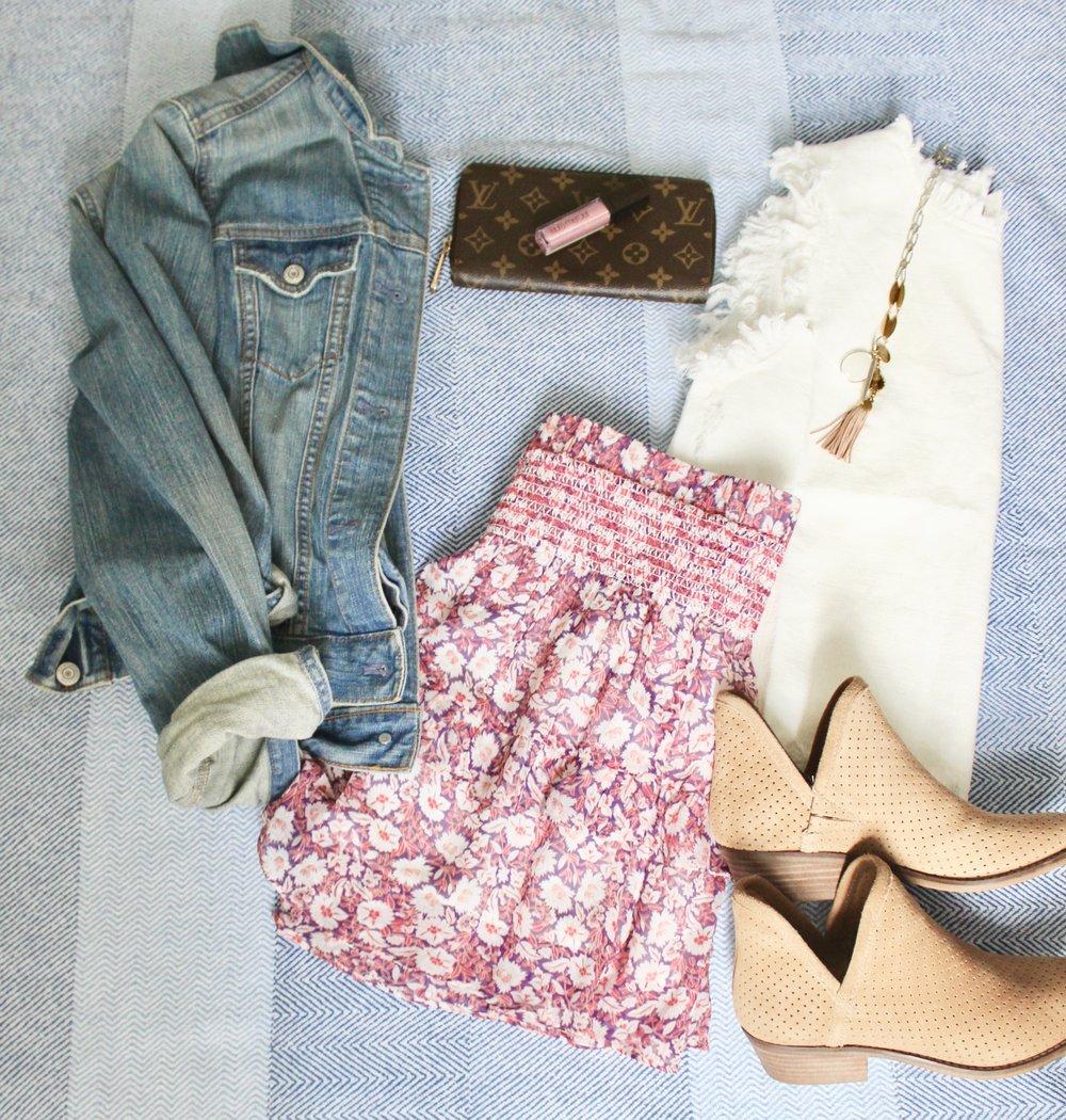 spring boho skirt