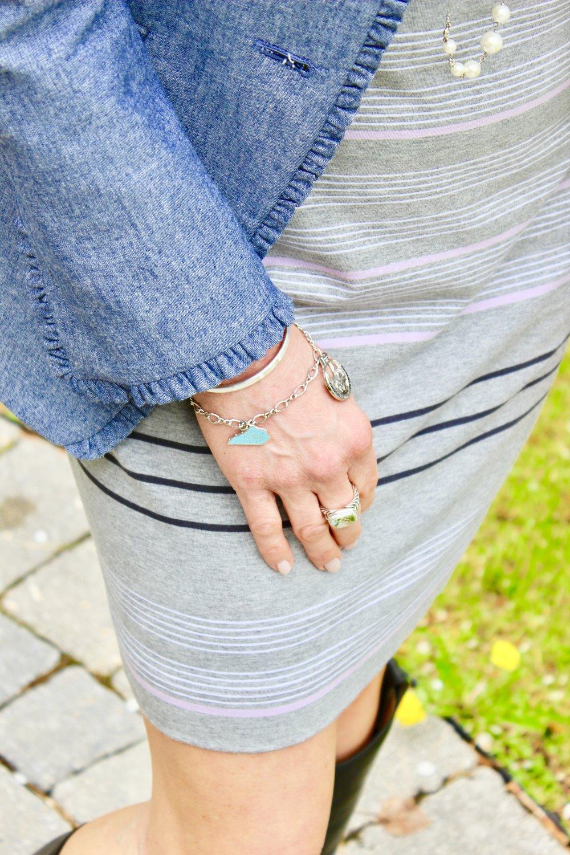 David Yurman ring   Similar Bracelet