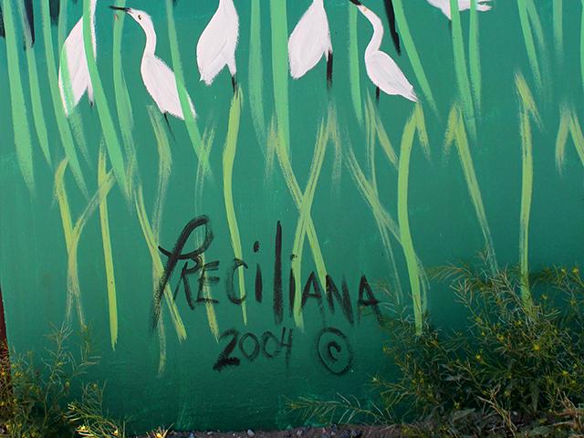 514 N. Miranda Acrylic Preciliana 2004