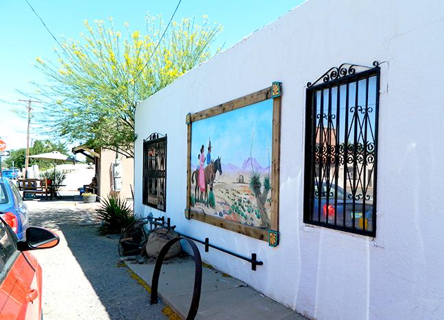 2433 Calle de San Albino Acrylic A. Alan Greene After Eddie Chavez 2013