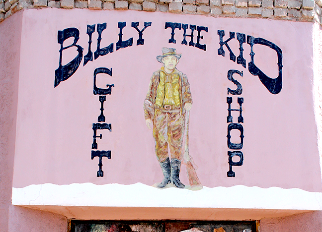 2385 Calle de Guadalupe Billy the Kid Store Acrylic or Tempera Artist unknown Unknown date