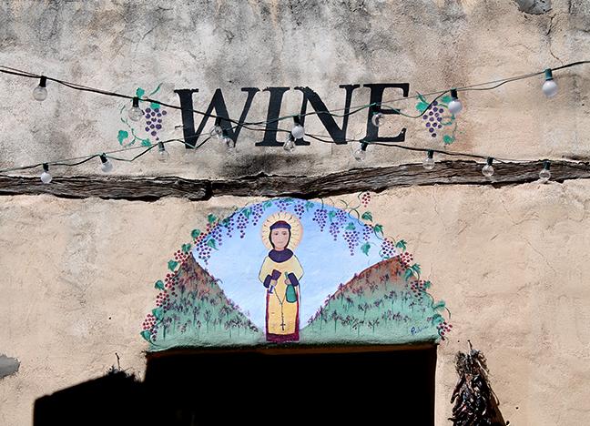 2461 Calle de Principal Vintage Wines Tempera paint Precilliana Sandoval Unknown date