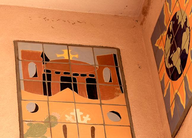 2355 Avenida de Mesilla Painted ceramic Various artists unknown Date unknown
