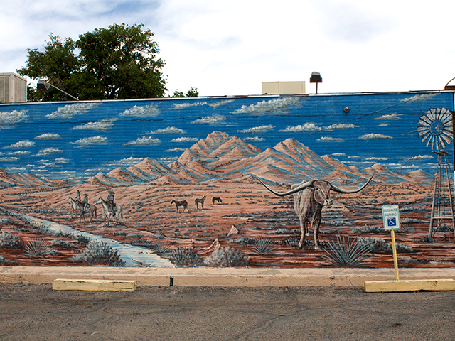 2195 Main - corner of Madrid & Main Organ Mountains/Landscape Chris Goodheart 2010