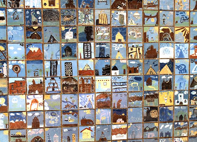 Mesilla Park Community Center  Collaborative Mosaic