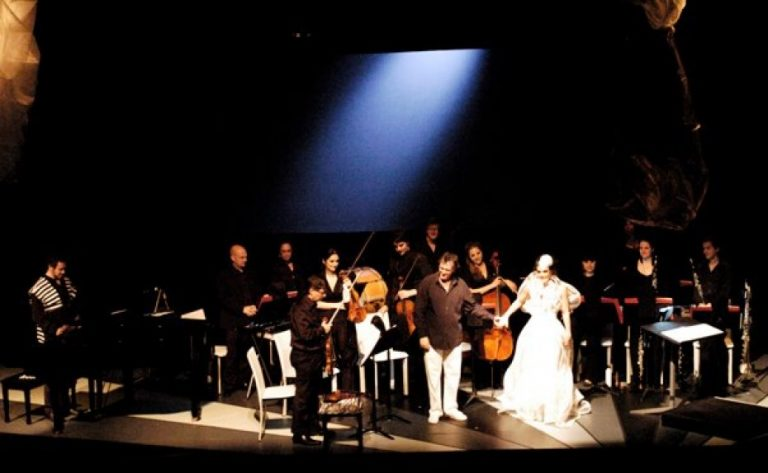 LA Artcore provided a launching point for the LA Grand Ensemble,   which combines visual arts and classical music performance