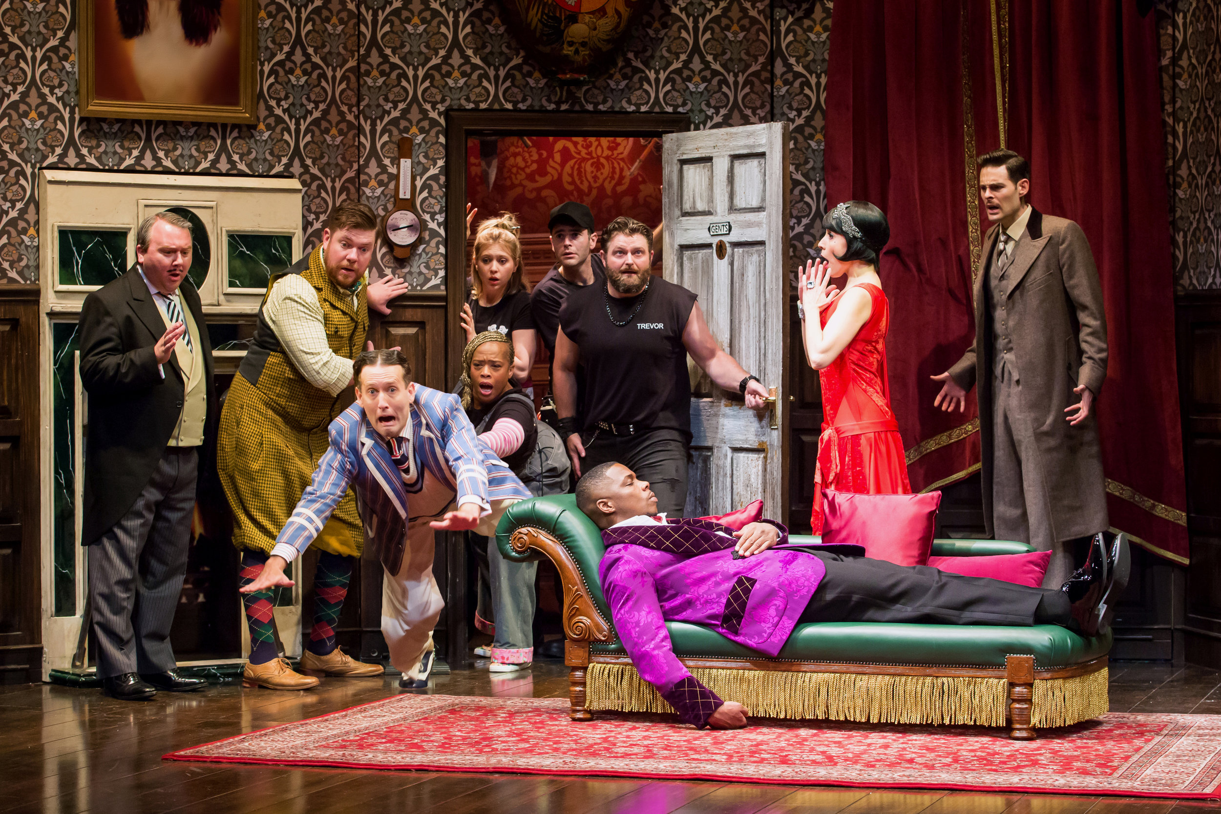Oct 3 Theater review: The Play That Goes Wrong at the Peace Center