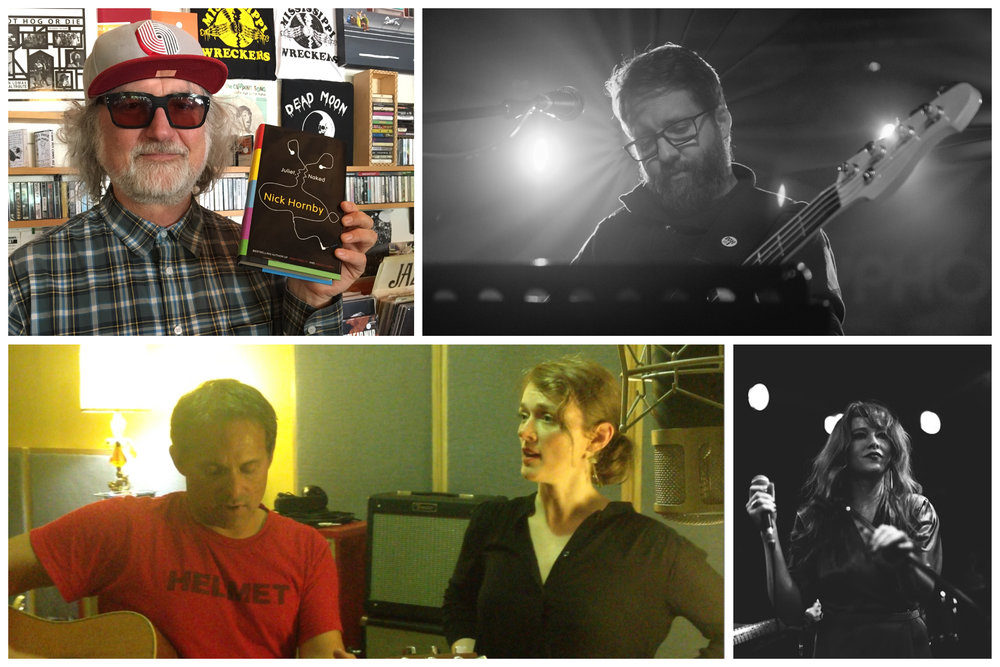Clockwise from top left: Scott McCaughey, James Pertusi (recording and mastering), Aja Warren, Laura Cantrell and Serpa. Photo of Pertusi by Tony Jupp. All other photos courtesy of the artists.