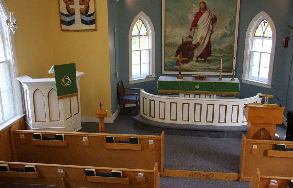 Bethlehem Lutheran Interior