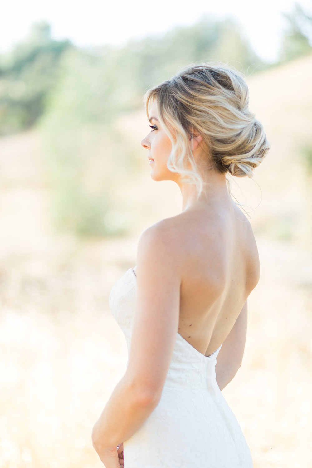 Twisted updo makes for the perfect pinterest inspo