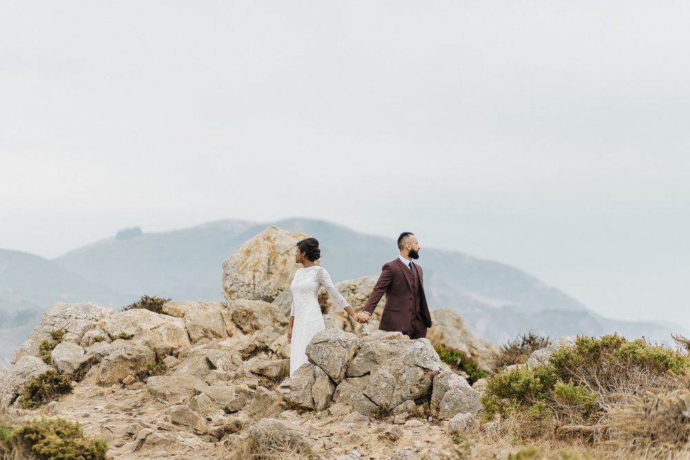 Big Sur destination elopement