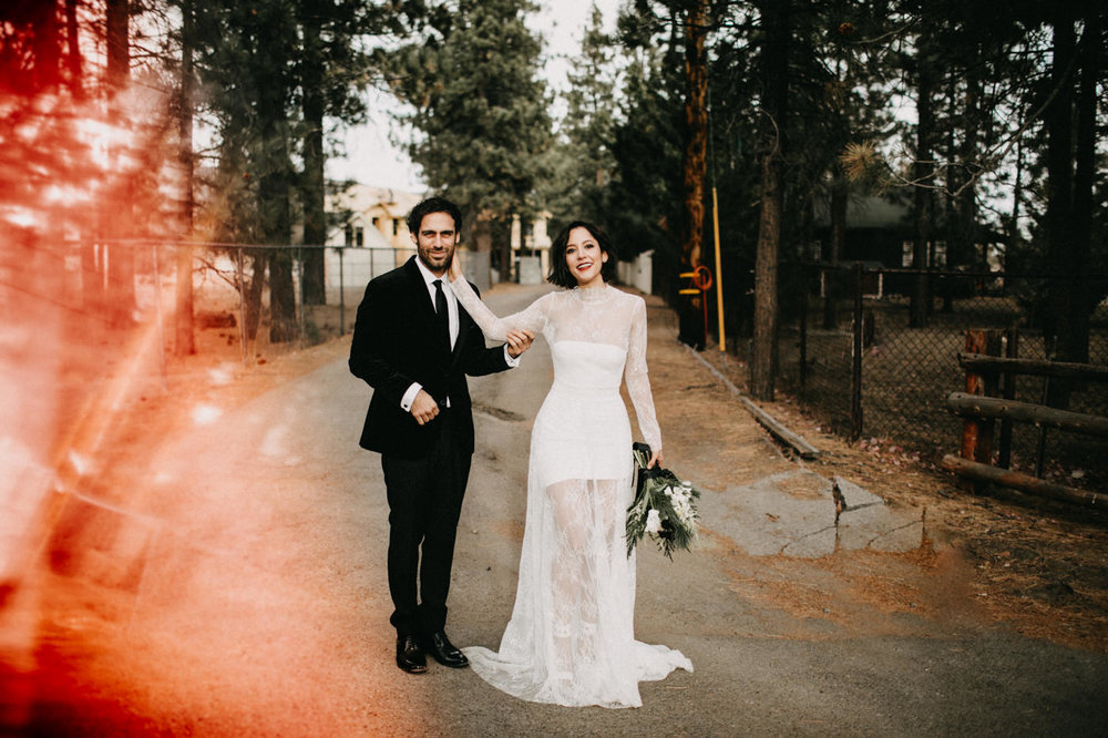Big Bear destination elopement