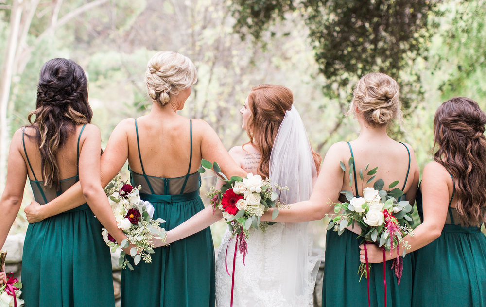 Bridal party hair inspiration