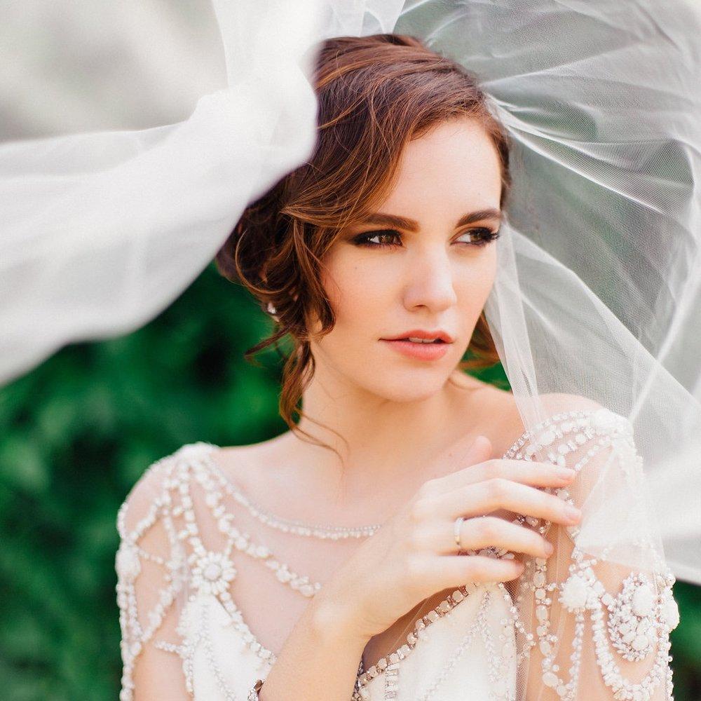 ROMANTIC GREEN GARDEN WEDDING IDEAS  - every last detail