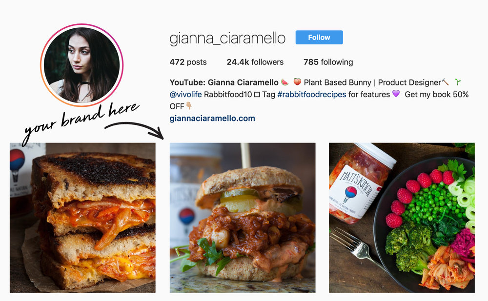 Instagram Posts  - Would you like me to post your Brand's Food Product on my Instagram Page?I got you covered there too! (details below)