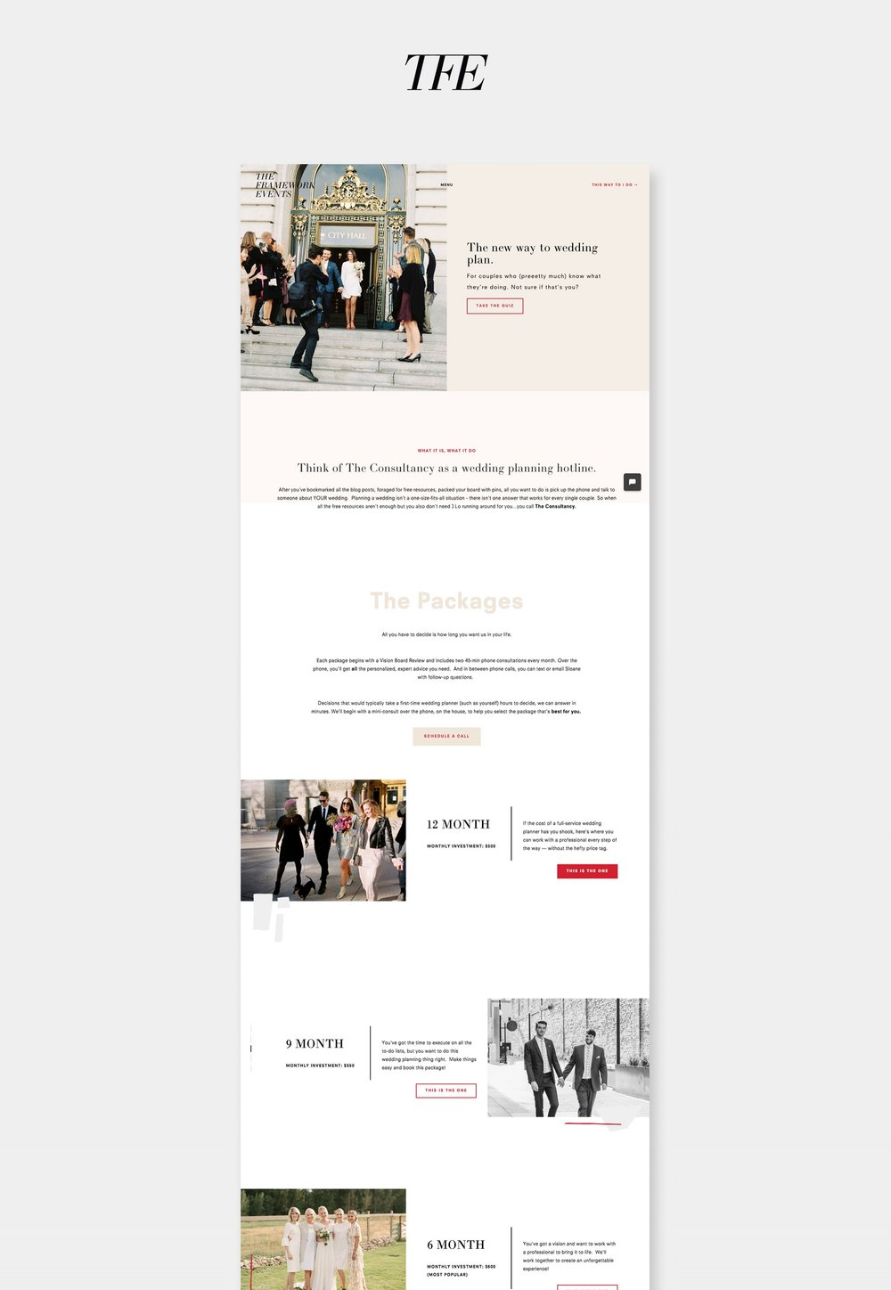 Site-Showcase-TheFrameworkEvents - SH Digital