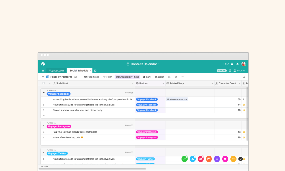 Using Airtable for Content Calendars - Savvy Systems for Entrepreneurs