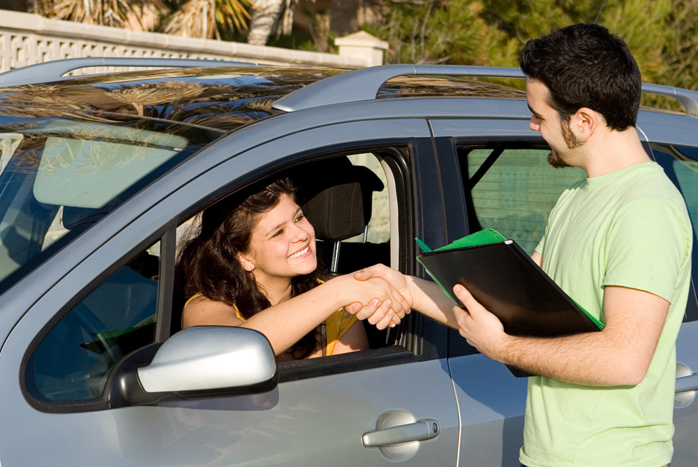 driving test car hire or rental or new vehicle