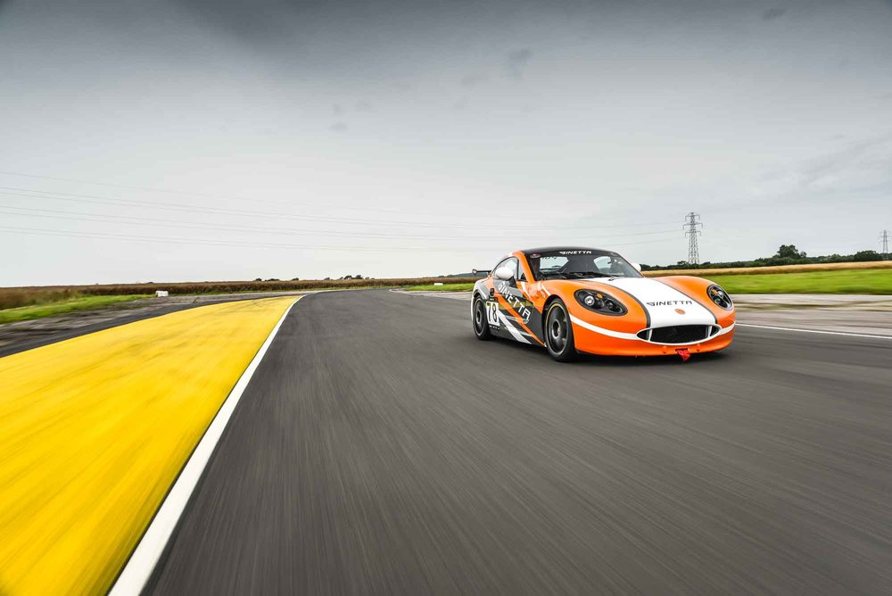 Ginetta Hire - Enjoy an exclusive morning or afternoon session in one of our fleet of Ginetta G40 Club Cars