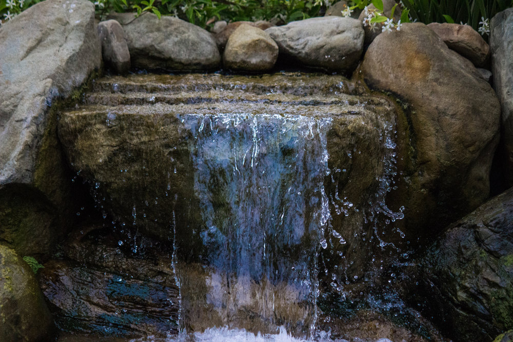 Water features & Waterfalls -