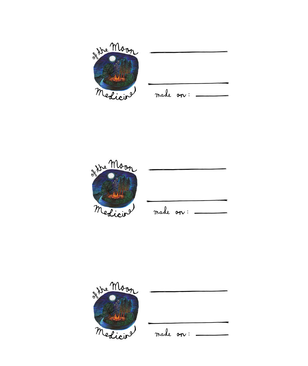 Printable Label Format