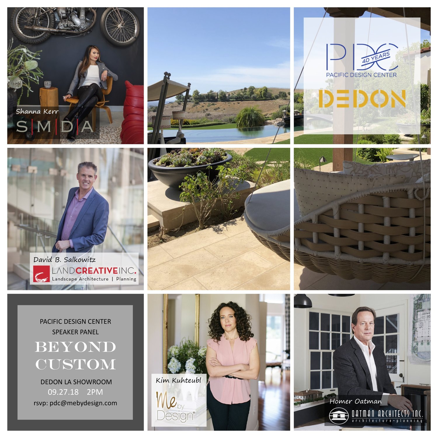 Join us at the PDC Fall Market in the Dedon Showroom — SMDA 2226425d40b9e