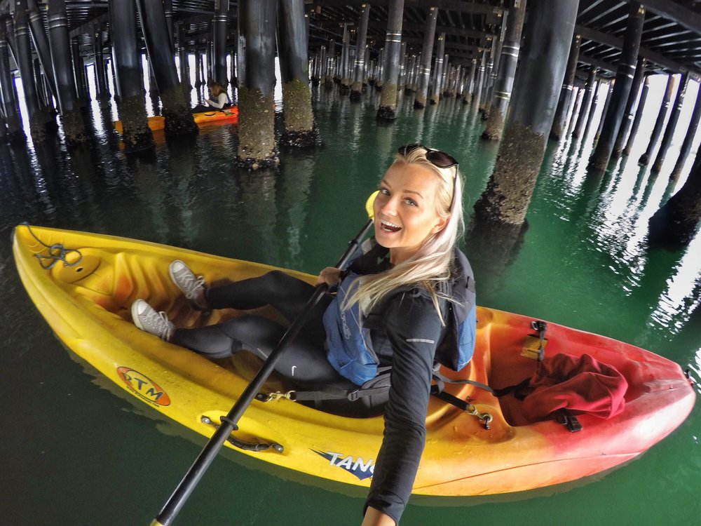 Karoline under pier.jpg
