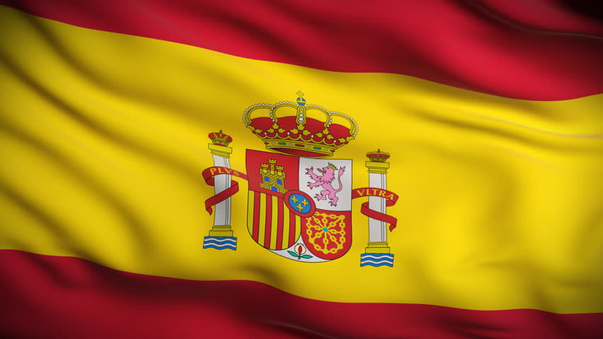 Spanish flag. We speak spanish natively.