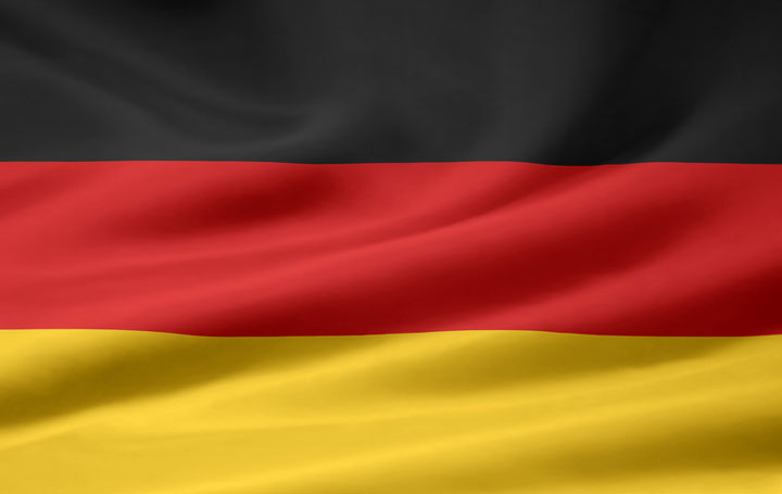 German flag. We also speak german fluently. Wir sprechen fließend Deutsch