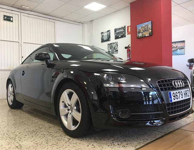 Check out our new arrival #audi #auditt #coupe #sportscar #malaga #carsforsale #spain #usedcars #usedcarsforsale #costadelsol