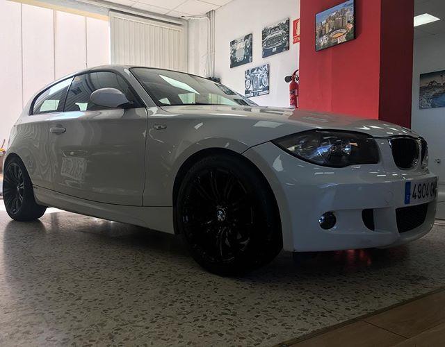New arrival #nuevallegada #bmw #bmw1 #bmw1m #mynewcar #malaga #costadelsol #andalucia #spain #carsforsale