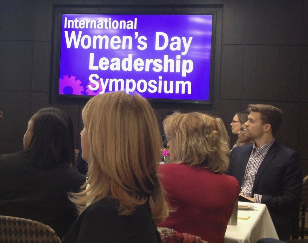 IEEE Toronto Women in Engineering and GYBO Robotics Network Sponsored an International Women's Day Symposium at Humber College