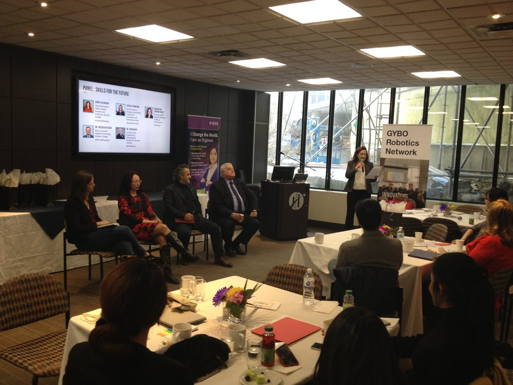 Panel discussion on 'Skills for the Future' and other work trends