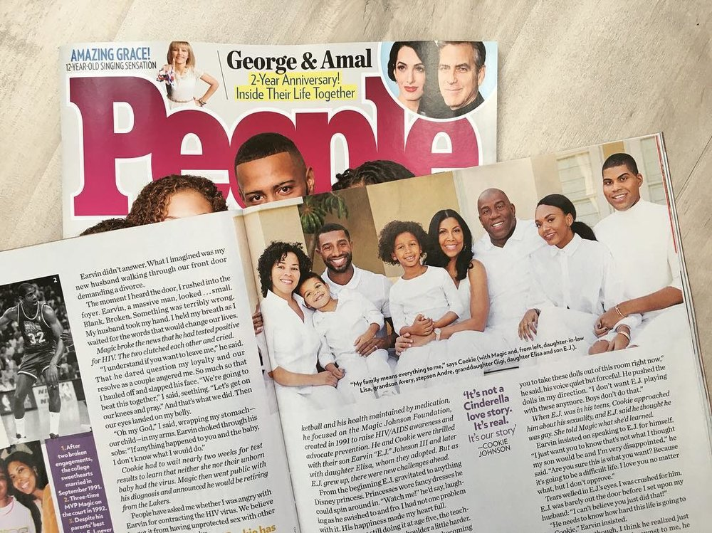 PEOPLE MAGAZINE read more...
