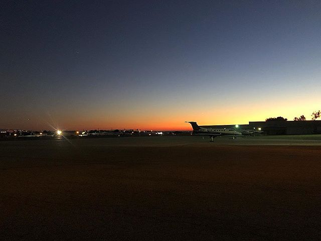 #SantaMonicaAirport at #Sunset today. #JasonSotoWasHere