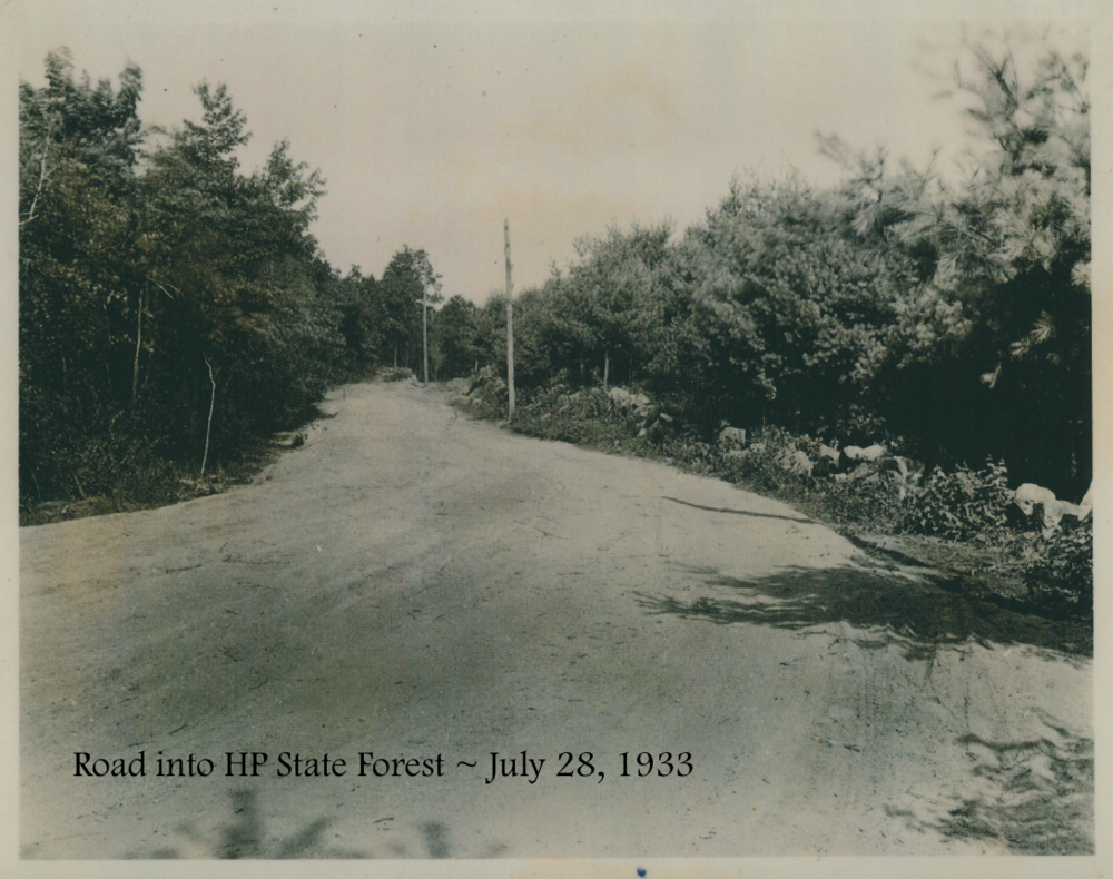 #9 Road into HP State Forest July 28, 1933.png