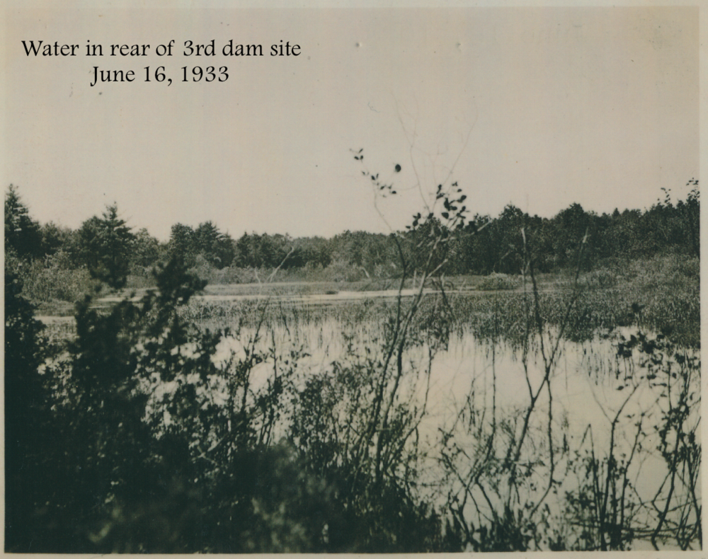 #32 Water in rear of 3rd dam site June 16, 1933.png