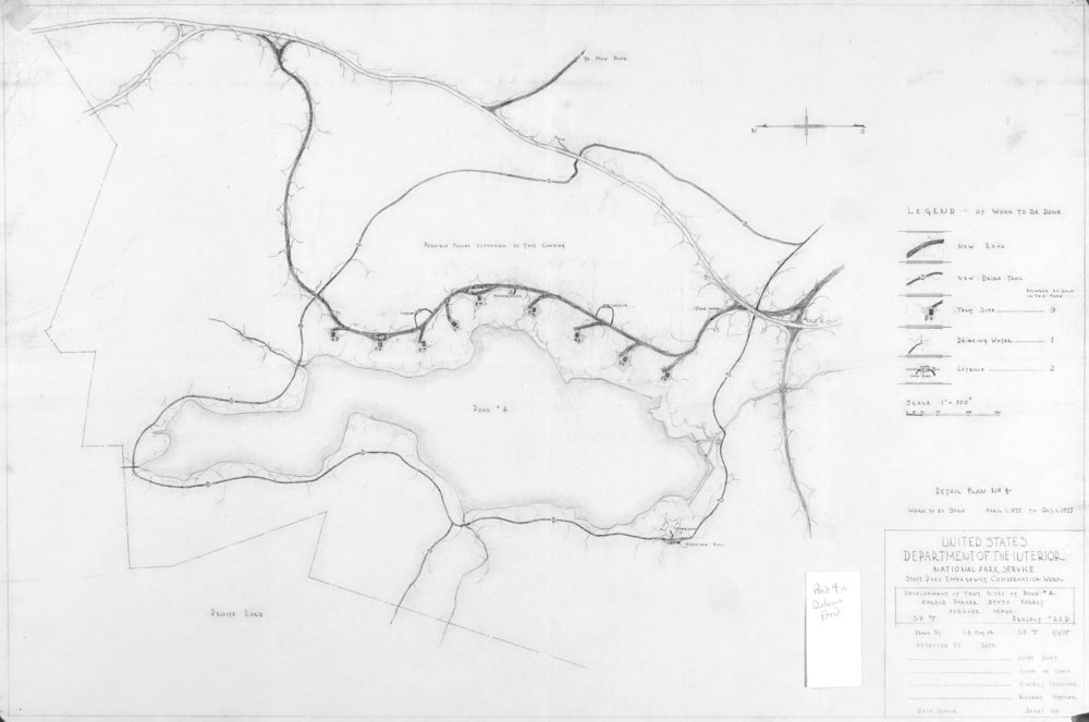 Delano Pond Proposed Tent Sites