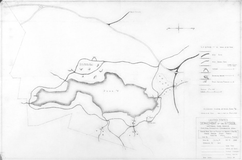 Delano Pond Proposed Bridle Path