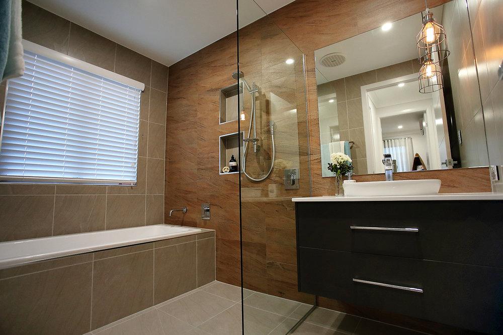 North Shore Display Home   Floor - Metropolis Grey Matt 450x450  Walls - Metropolis Grey Matt 450x450