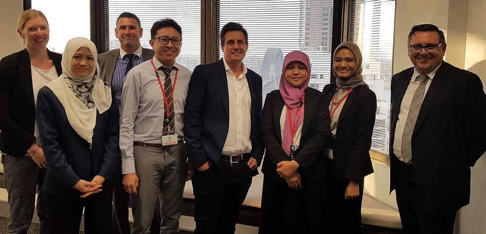 This was after a meeting between the RegTech Association with Austrac and a delegation from the Indonesian and Malaysian regulators.