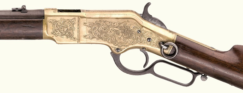 Edited Smaller Image, Winchester 2nd model 1866, Saddle Carbine, cal44 Henry, no 24090,.jpg