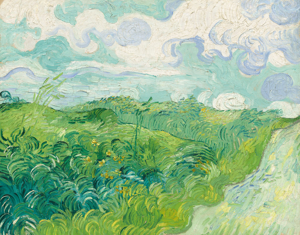 Vincent van Goph, Dutch 1853-1890, Green Wheat Fields, 1890.jpg