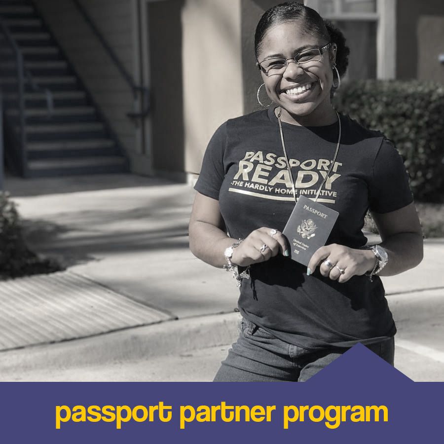 We challenge YOU to be a part of the student's new journey. Adopting A Passport (donating and/or fundraising the cost of one passport- $150) is a direct way for you impact a young person studying abroad. Being a Passport Adopter is not only impactful, but fun!