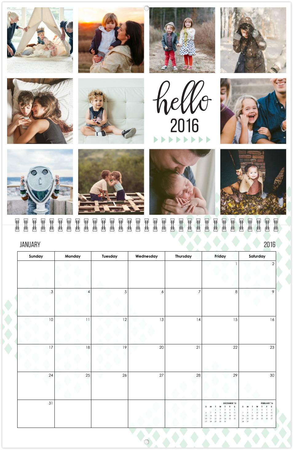 instagood calendar mixbook