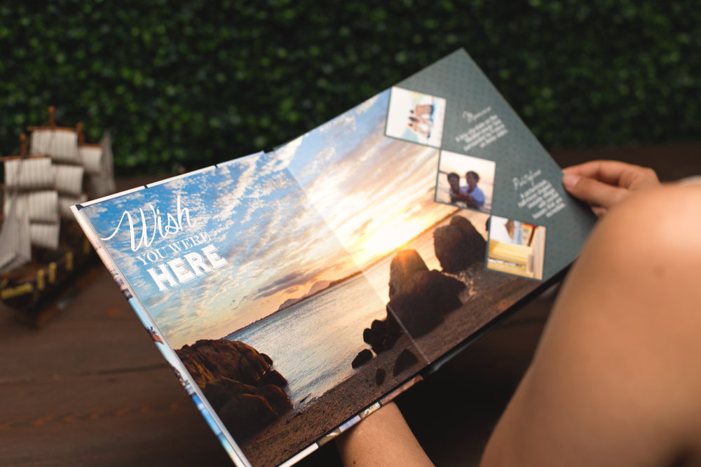 Live To Travel Photo Book