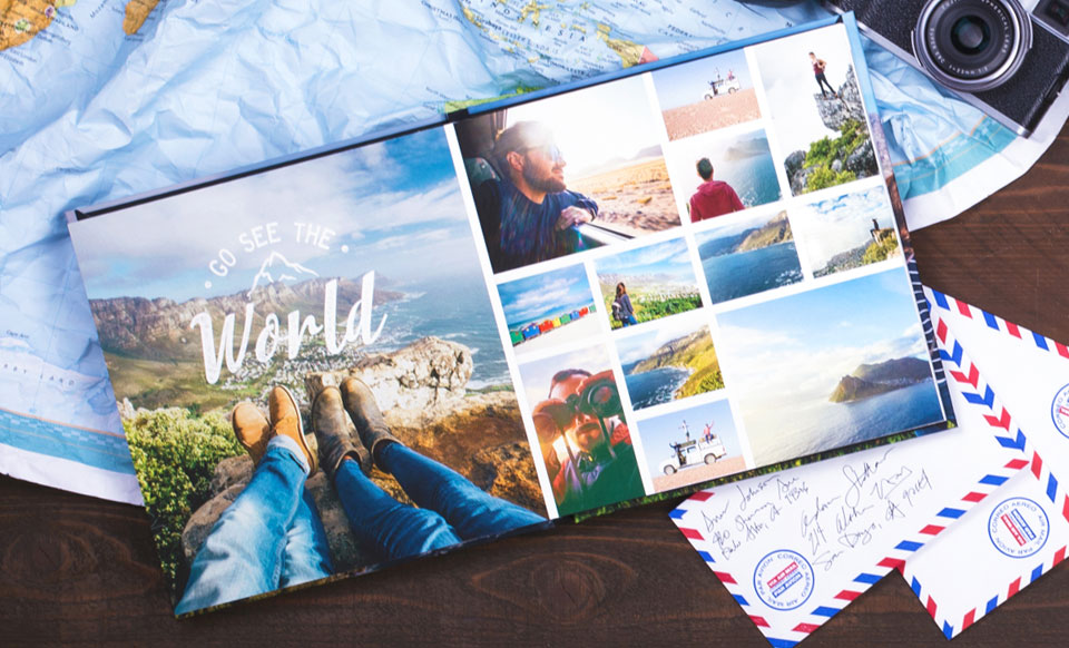 new travel photo books and how to make it easy to follow through