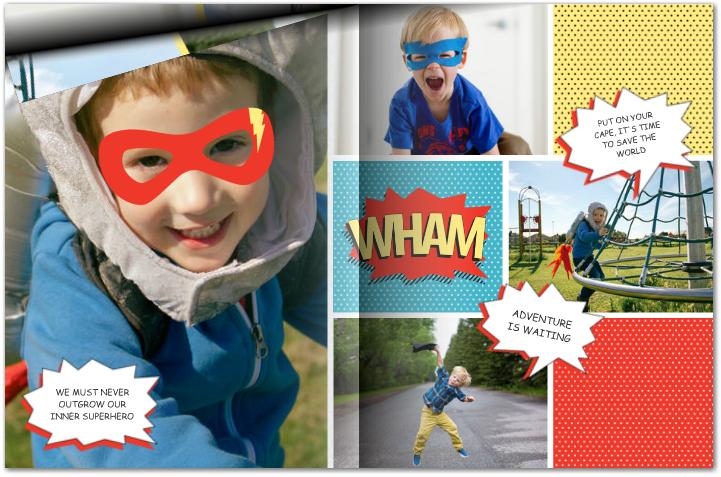 superhero-comic--photo-book-kid-child-gift-idea-mixbook