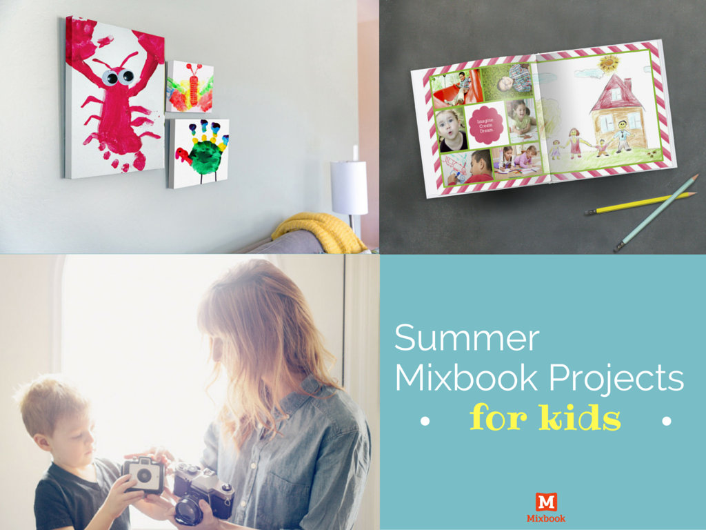 Kid's Summer Mixbook Projects Activities