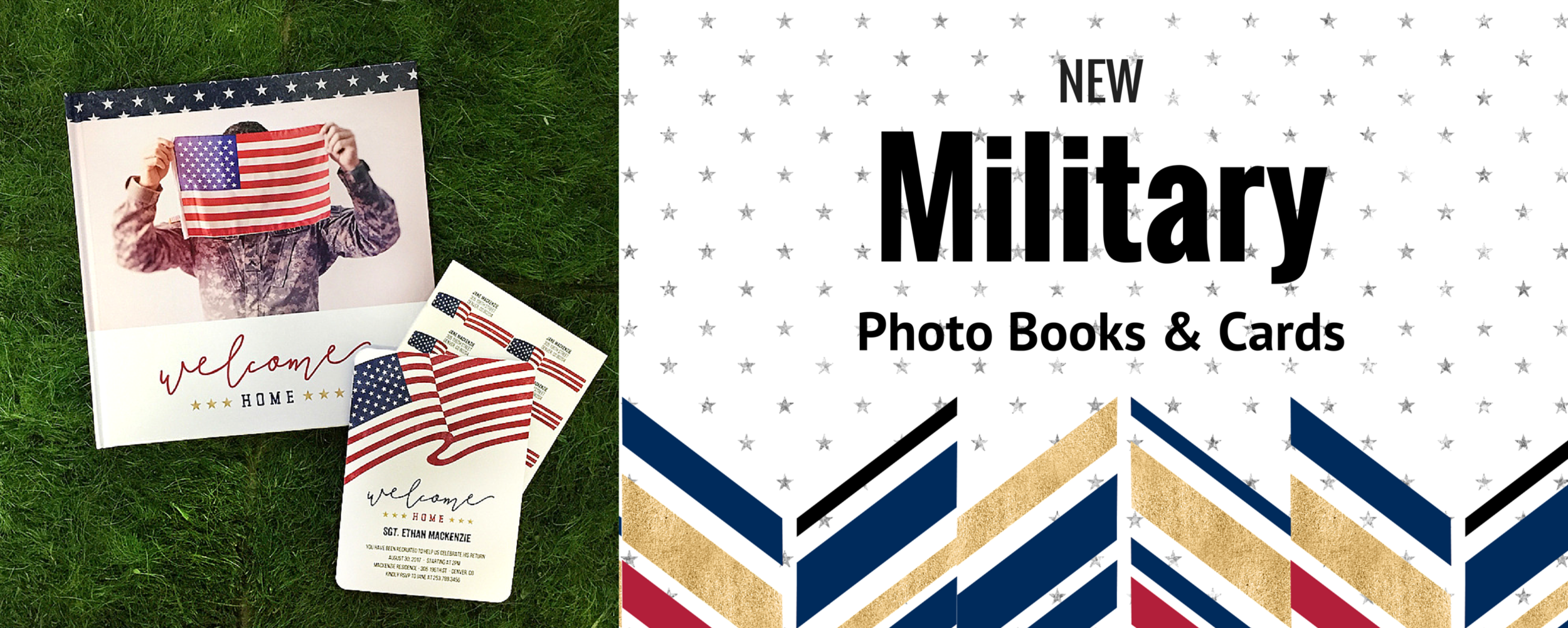 New Military Photo Book & Cards